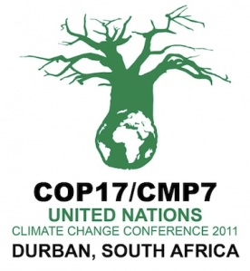 UN climate change negotiations in Durban, South Africa (COP17)